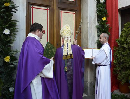 Messe d'ouverture de la porte sainte – Jubilé de la miséricorde