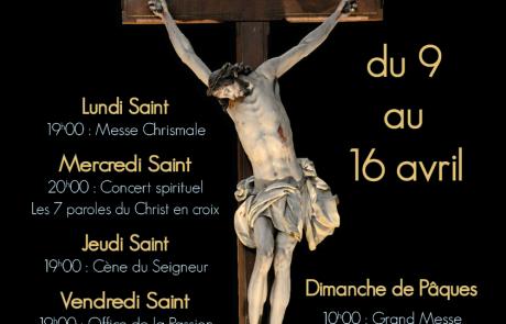 Semaine Sainte – Cathédrale