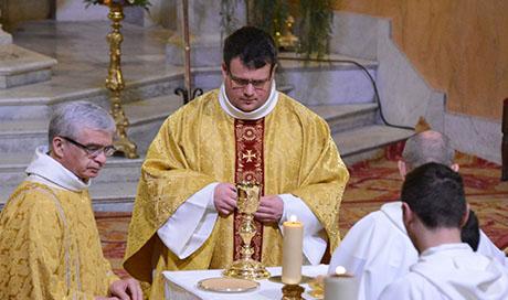 Nativité de Saint Jean-Baptiste et «au-revoir» au Père Sylvain brison