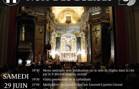 29 juin – Nuit des Églises