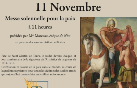 Messe du 11 novembre