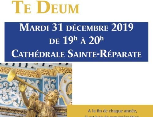 Miserere & Te Deum – Mardi 31 décembre 2019
