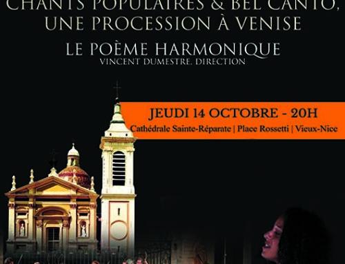 Concert 14.10 : Nisi dominus